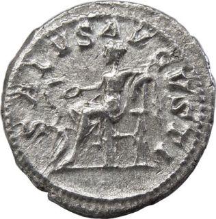 Maximinus I AR Denarius Salus Ancient Roman Coin