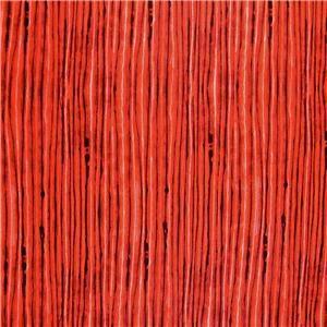 Maywood Studios Cotton Fabric Intense Orange Red Waves Fat Quarters