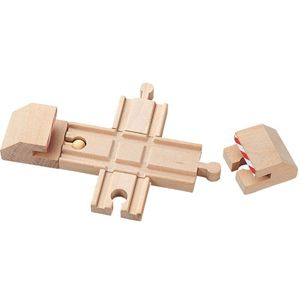 New Wooden Cross Buffer Set Thomas Train Track Brio
