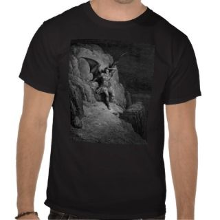 Satans Infinite Despair   Gustave Dore Shirts