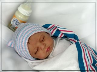 Reborn Preemie Baby Boy 1st abn Baby of 2013  Free US SHIP