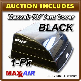 Maxxair Vent Cover Black 1 Pack New Maxx Max Air RV Trailer Cargo E