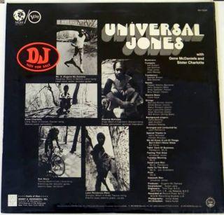 Jones Vol 1 LP Original Still SEALED LP Eugene McDaniels