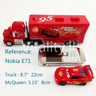 New Disney Pixar Cars Lightning McQueen & MACK Mack Superliner Truck 2