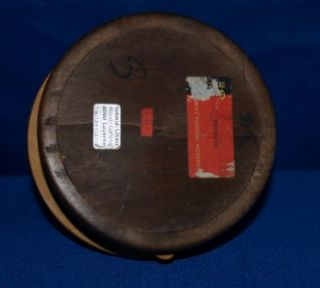 Vintage Schmid Linder Wood Carved Music Box Edelweiss