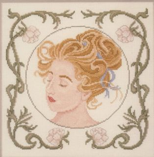 Sonia by Carolyn Meacham Cross Stitch Pattern Leaflet