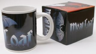 Meat Loaf Official Ceramic Coffee Cup Mug Gift Box New