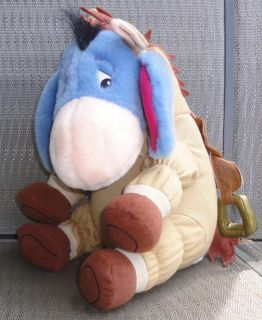Disney Eeyore as Bullseye Stuffed Animal Plush Winnie The Pooh Toy