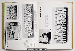 USS Franklin Roosevelt CVA 42 Cruise Book 1956