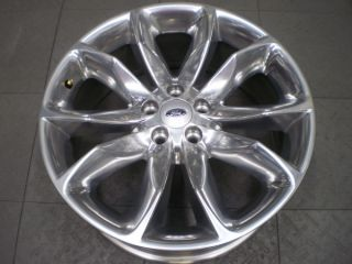 3861 Ford Explorer 20 Factory 5 Lug Polished OE Alloy Rim Wheel