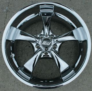RVM DYNO5 20 Chrome Rims Wheels Mazda CX7 CX9