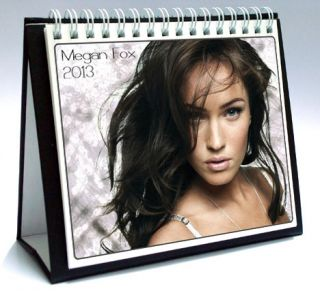 Megan Fox 2013 Desktop Holiday Calendar