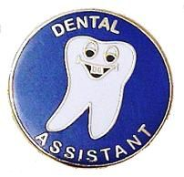Dental Assistant Tooth Professional Medical Lapel Pin Smiley Face 112