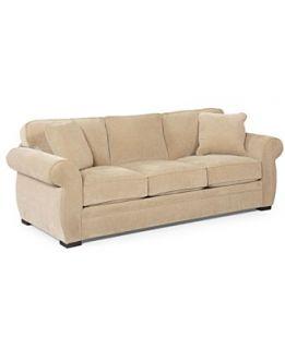 Devon Fabric Sofa Bed, Queen Sleeper 96W x 38D x 29H