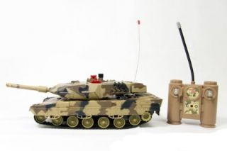 RC Infrared Remote Control Battle Tank 1 18 Scale 40 MHz Radio Control