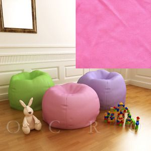 Pottery Barn Kids Bright Pink Anywhere Beanbag Slipcover Regular