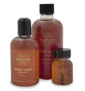 Mehron Matte Spirit Gum Liquid Adhesive Lace Wig Glue 1oz Special
