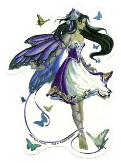 Fairy Fantasy Car Sticker Violet Melody Nene Thomas