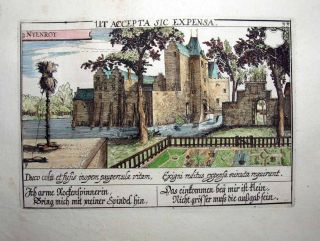 1627 David Vinckboons (Meisner) FOUR SEASONS   4 DUTCH CASTLE VIEWS