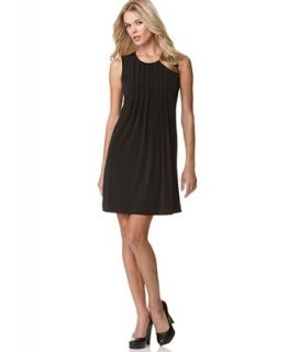 Calvin Klein Dress, Pleated Matte Jersey
