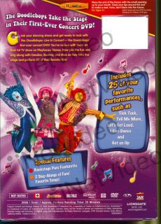 Doodlebops Live in Concert Includes A Doodl New DVD