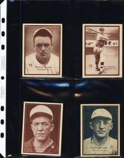 Comprises 54 total cards including Babe Ruth, Lou Gehrig, 35 Hall of