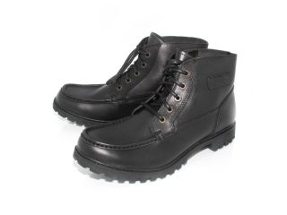 Davidson Paladin Mens Black Leather Motorcycle Boots Size 11