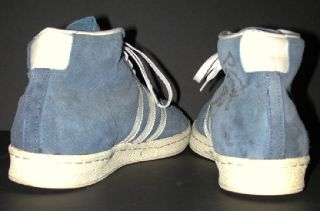 1970s Vintage ABA Charley Razor Edge Suede Adidas Game Used Basketball