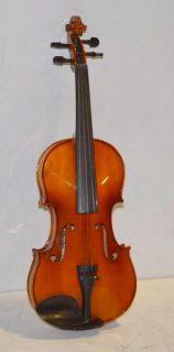 Mendini by Cecilio 4 4 Solid Wood Violin Set MV400