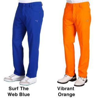 New Mens Puma Golf 5 Pocket Tech Pants 4 Colors