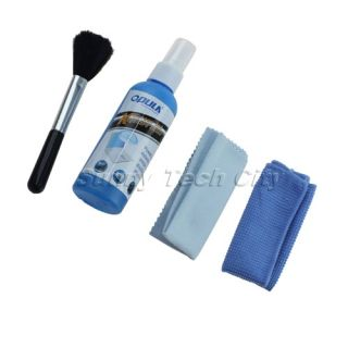 Computer Laptop LCD Monitor Screen Cleaning Kit Cleaner Cloth