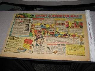 Newspaper Ad 1930s Melvin Purvis Junior G Man Comic Book Strip Premium