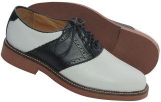 Genuine Original Mens Saddle Shoes Sz 7 Med