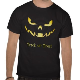Yellow Scary Monster Eyes Mens Halloween T Shirt