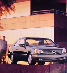 1993 Mercedes Benz 500 600 Sec Dlx Brochure 93