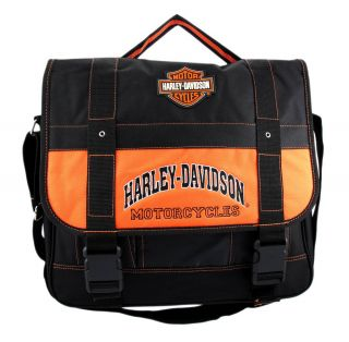 New Harley Davidson Messenger Bag Book Bag