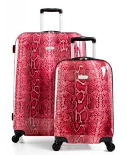 Jessica Simpson Luggage, Leopard Spinner Hardside   Luggage