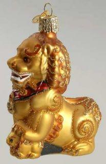 Merck Familys Ornament Foo Dog Right Paw Up 8351348
