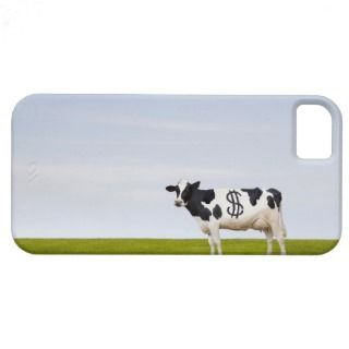 Holstein Dairy cow with spots in the shape of iPhone 5 Case