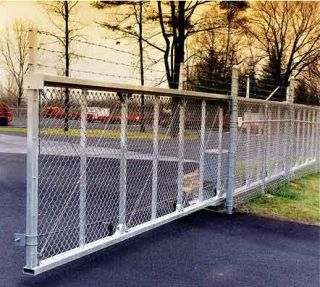 Slide Gate Trolleys for Sliding Rolling Cantilever Gates 6 Wheel Truck