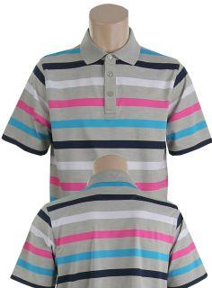 Callaway Metcalf Striped Mens Polo Golf Shirt Brand New