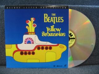 Yellow Submarine Laserdisc 1999 MGM ML106160 Laser Disc WS