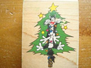 Tree Looney Tunes Sylvester The Cat by Stampede Rubber Stamp