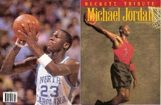 Michael Jordan Super Lot Wallet SEALED Card Sets Beckett Magazines