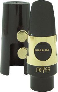 Meyer Hard Rubber Soprano Saxophone Mouthpiece 8 Medium