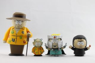 Mezco Figure South Park Butters Professor Chaos Set 4 Figures