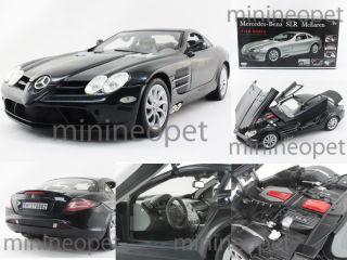 Motormax Mercedes Benz SLR McLaren 1 12 Diecast Black