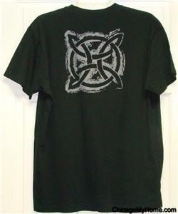 Michael Collins Irish Whiskey Mens Black Cotton Short Sleeve T Shirt