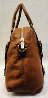 100% AUTHENTIC MICHAEL KORS BROWN MONOGRAM BEDFORD CANVAS & LEATHER