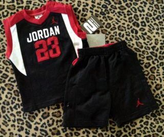 Nike Michael Air Jordan Shorts Set Infant Baby Boy Summer Clothes 24M